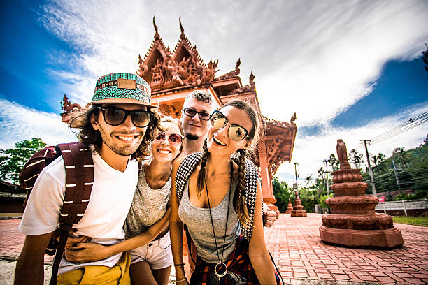 Touristen in Thailand – Foto