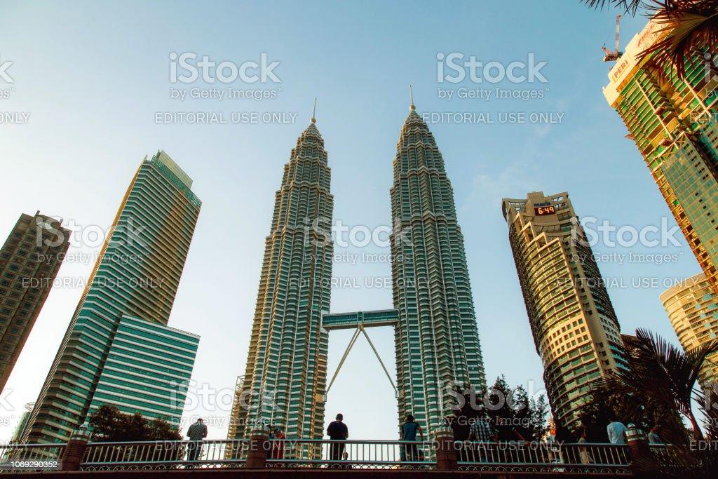 Kuala Lumpur Malaysia November 9 2018 Tourists Looking At