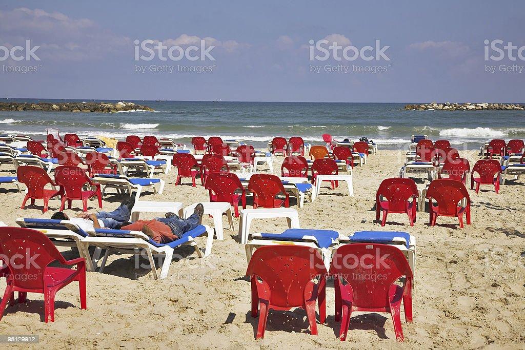 Tourists royalty-free stock photo