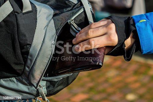 Tourist's purse is stolen