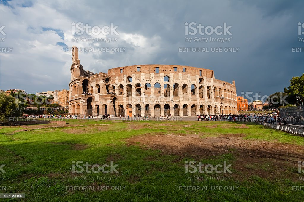 Tourists visiting  famous sightseeing and monument in the world stock photo