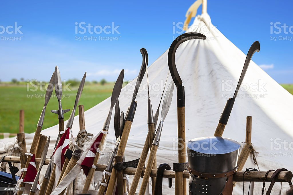 Tournament stock photo