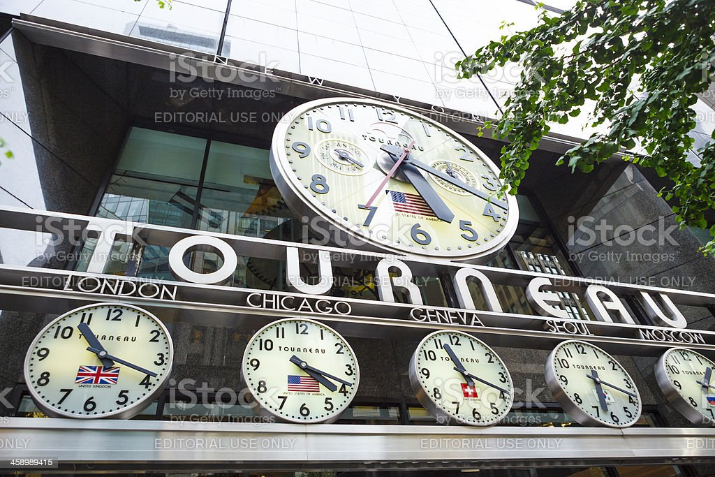 Tourneau Time Machine Midtown Manhattan Stock Photo & More