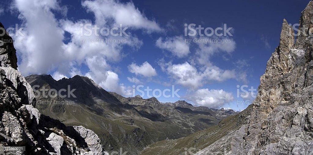 Tourtemagne (Turtmann in german) Valley royalty-free stock photo