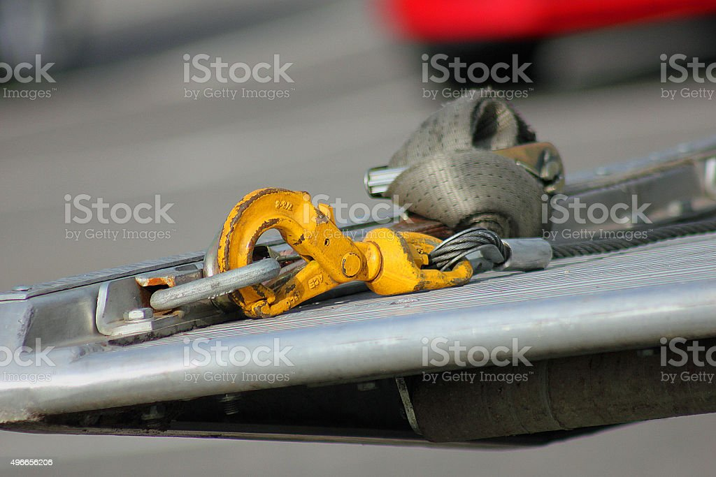 Tow Cable stock photo