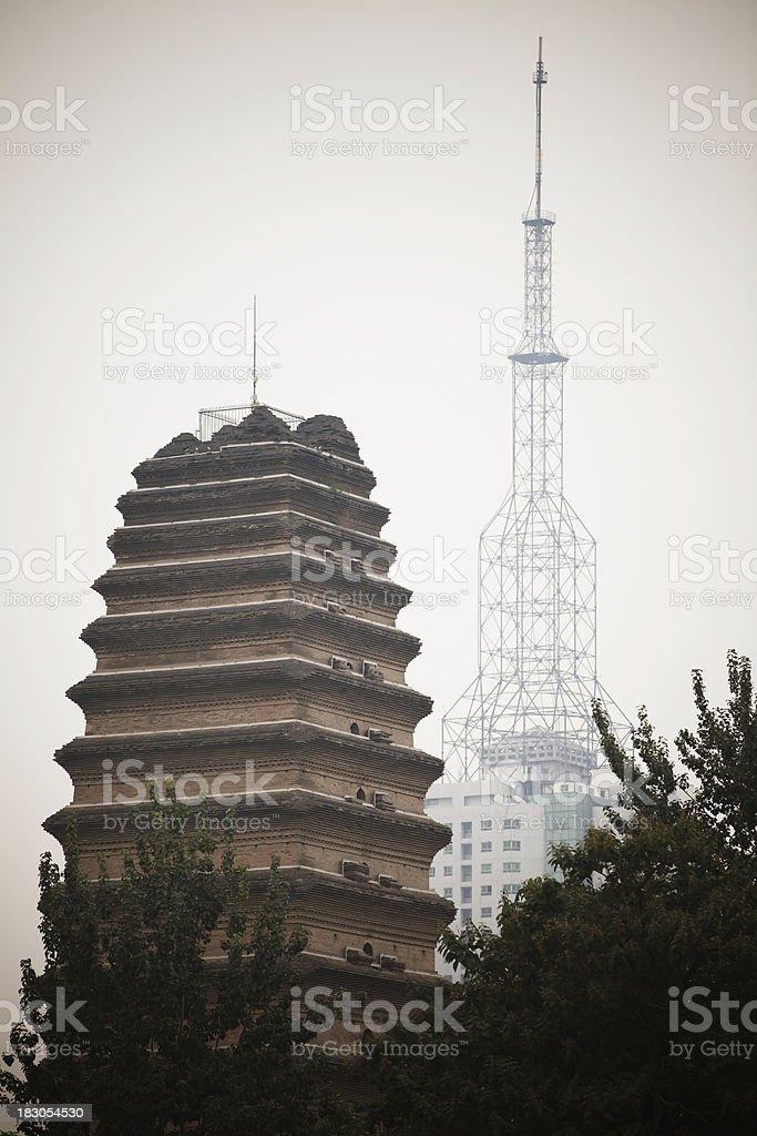 tow tower,china stock photo
