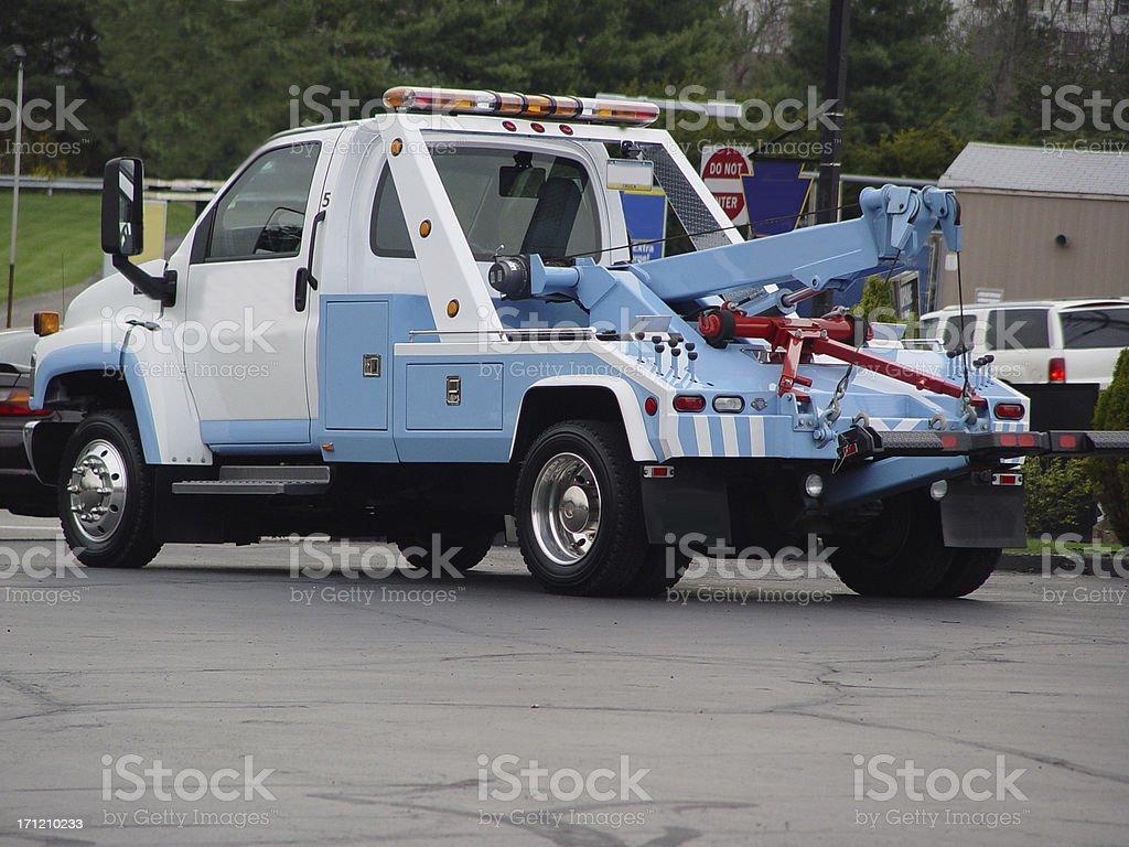 Tow Truck Diagonal stock photo
