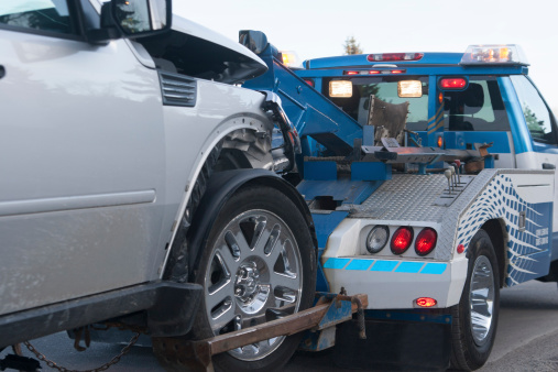 istock Tow Truck Wreck 466387691