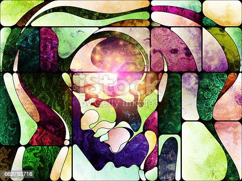 663794638 istock photo Toward Digital Colored Glass 663793716
