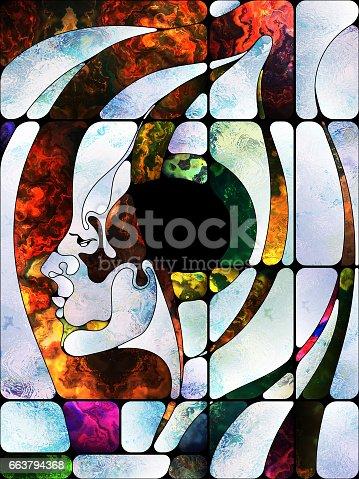 663794638 istock photo Toward Digital Colored Glass 663794368