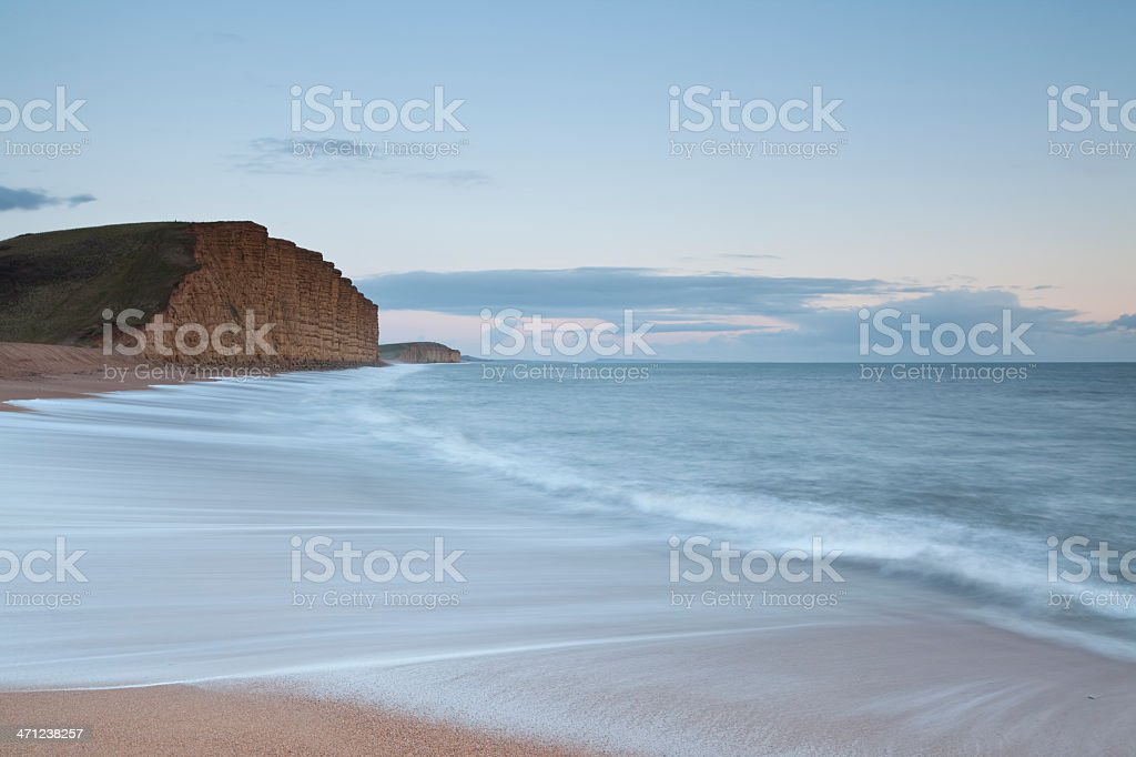 Towards Portland from West Bay. stock photo