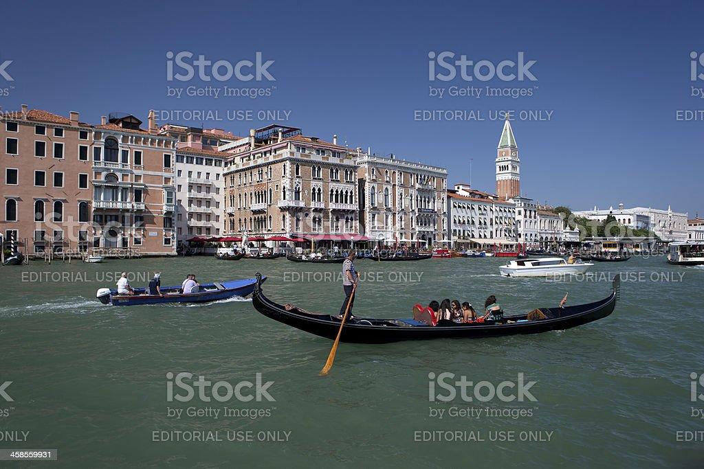 Towards San Marco royalty-free stock photo