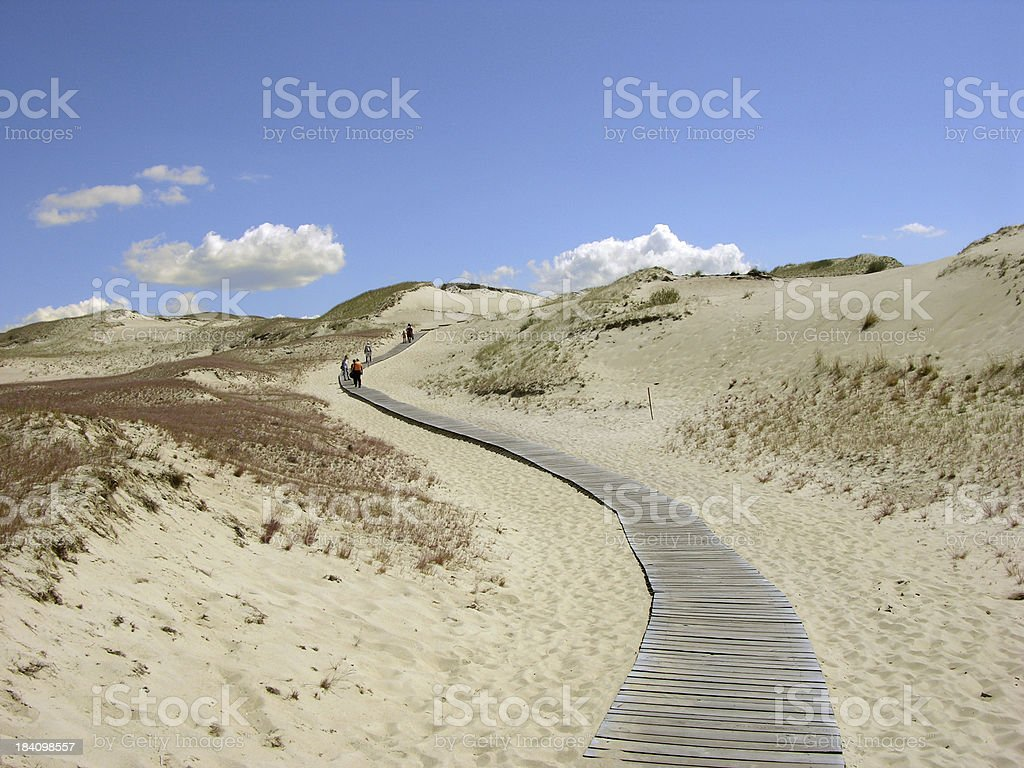 Towards the unknown royalty-free stock photo
