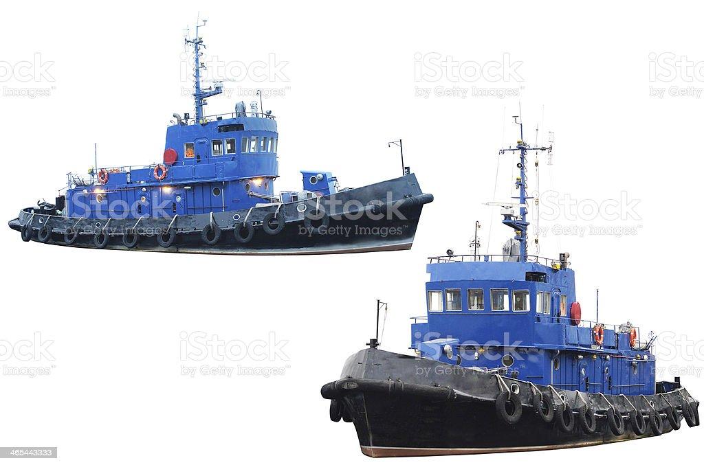 towboat stock photo