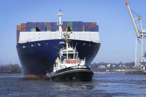 Towed Ship