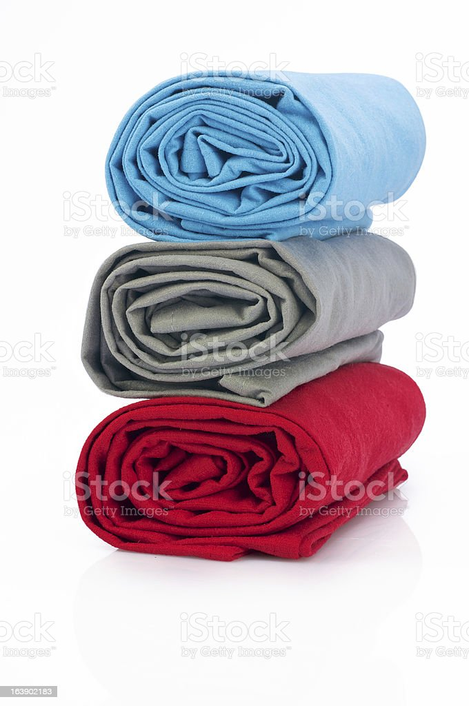 Towel - blanket full color royalty-free stock photo