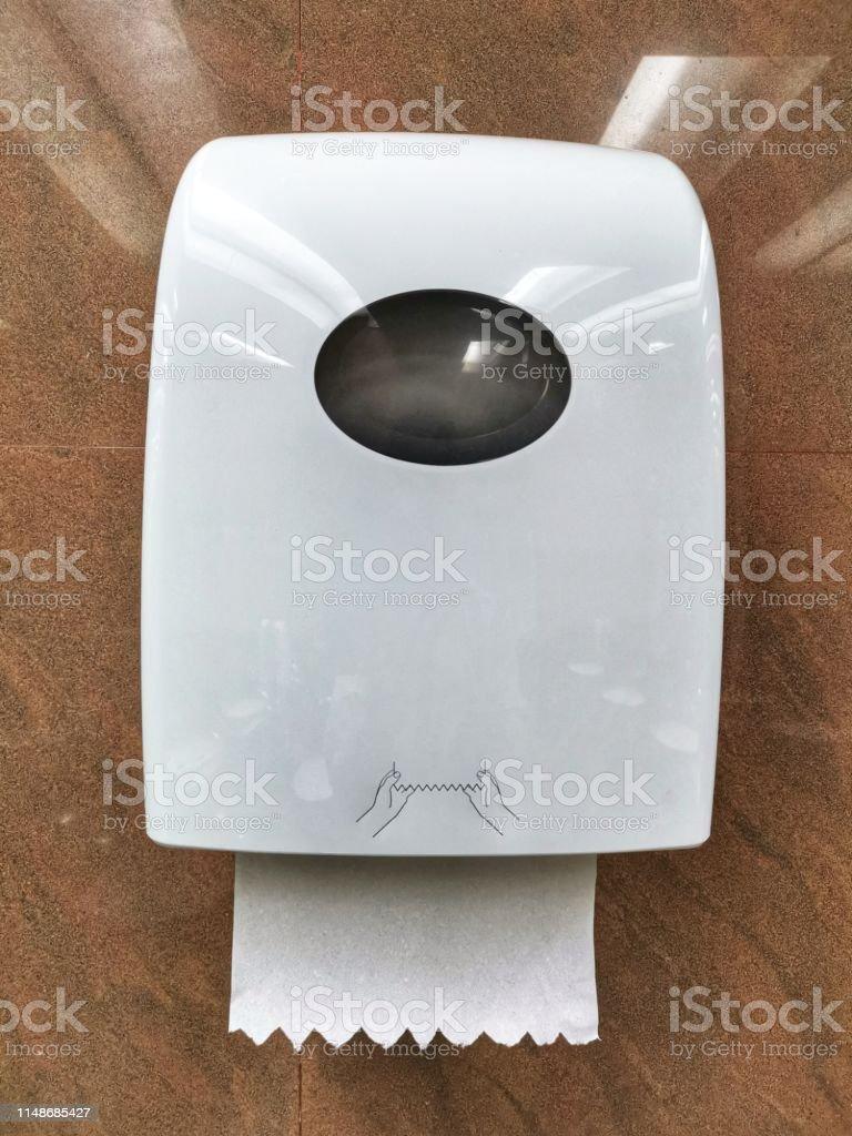Fabriquer Un Dévidoir Papier Toilette photo libre de droit de distributeur de serviettes en papier