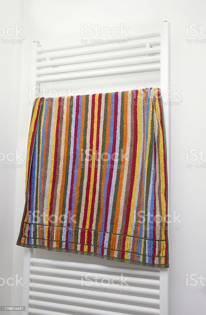 towel radiator royalty-free stock photo