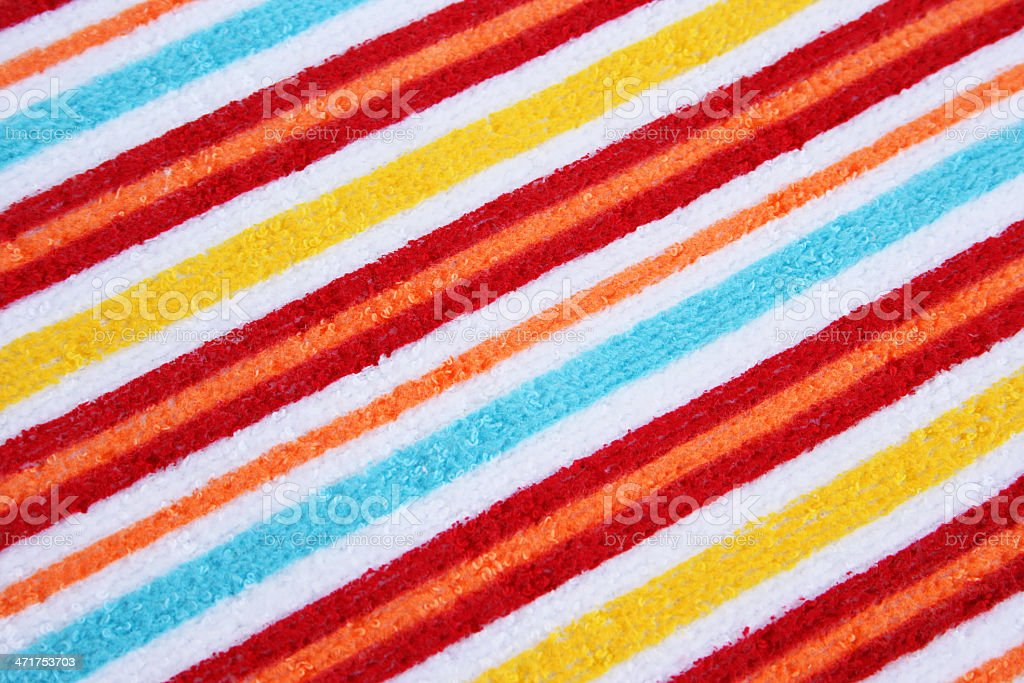 Towel texture royalty-free stock photo