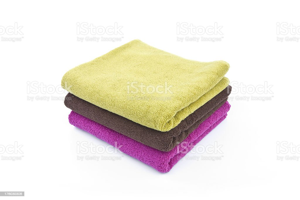 Towels Series royalty-free stock photo