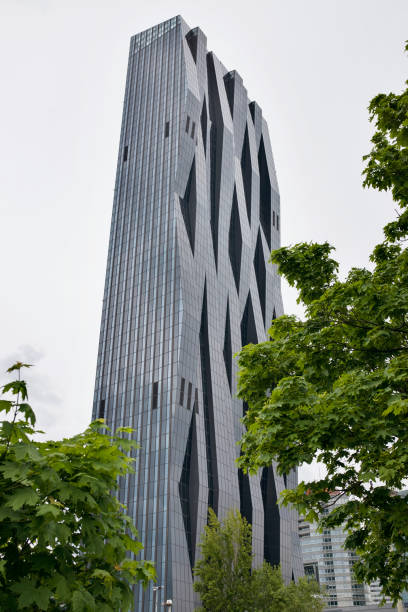 dc tower 1 - low angle view foto e immagini stock