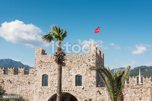 istock Tower and castle wall 969204414