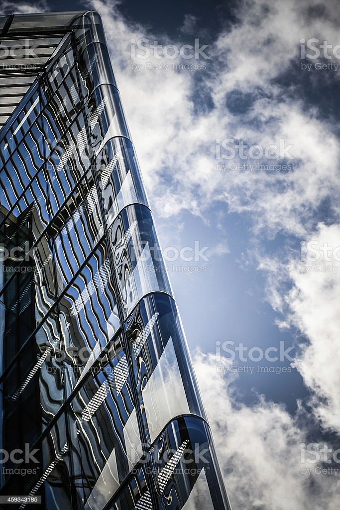 Tower and Cloudscape royalty-free stock photo