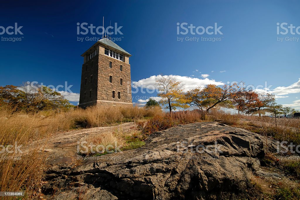 Tower at Bear Mountain royalty-free stock photo