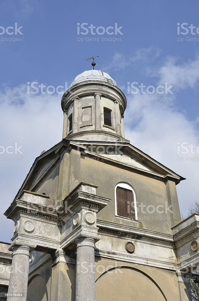 Tower at Mistley Church Essex stock photo