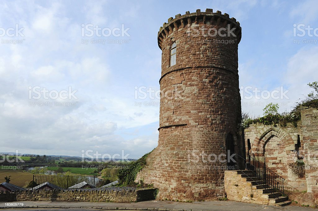 Tower at Ross On Wye stock photo