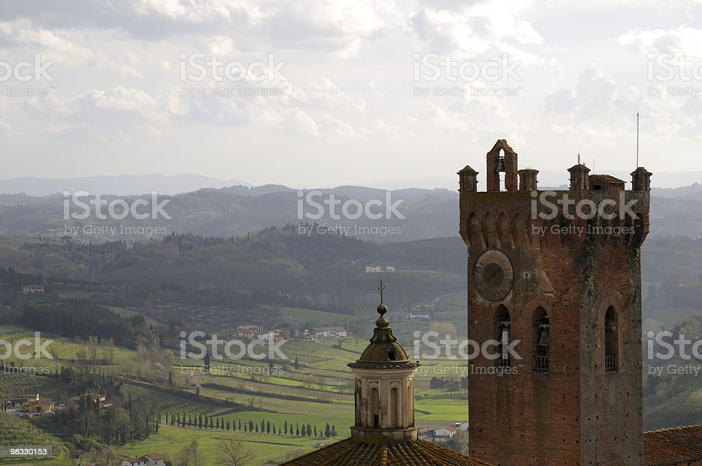Torre bell foto stock royalty-free