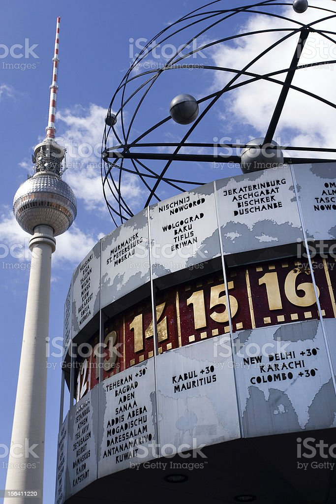 TV Tower, Berlin royalty-free stock photo