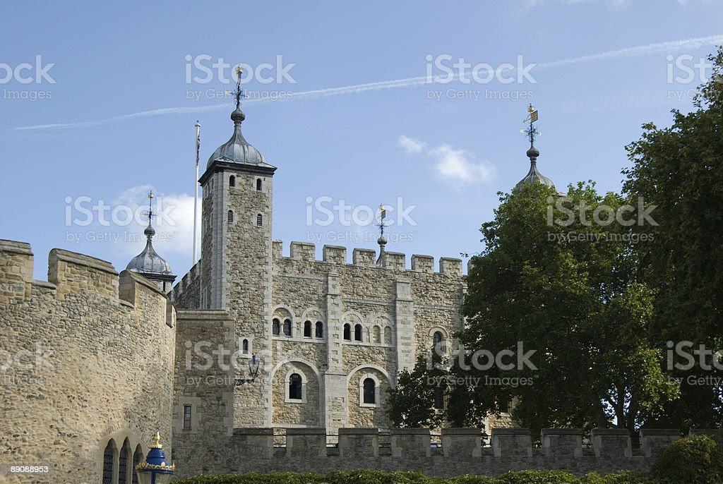 Castello di Tower Bridge foto stock royalty-free