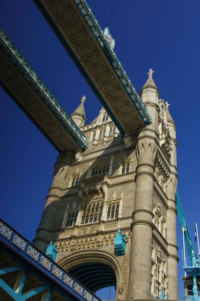Tower Bridge from Below stock photo