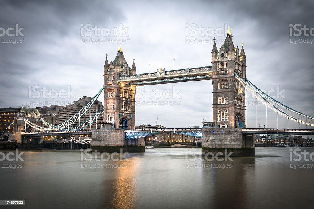 Tower Bridge In London, England royalty-free stock photo