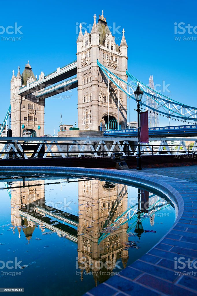 Tower Bridge in London, England / United Kingdom stock photo