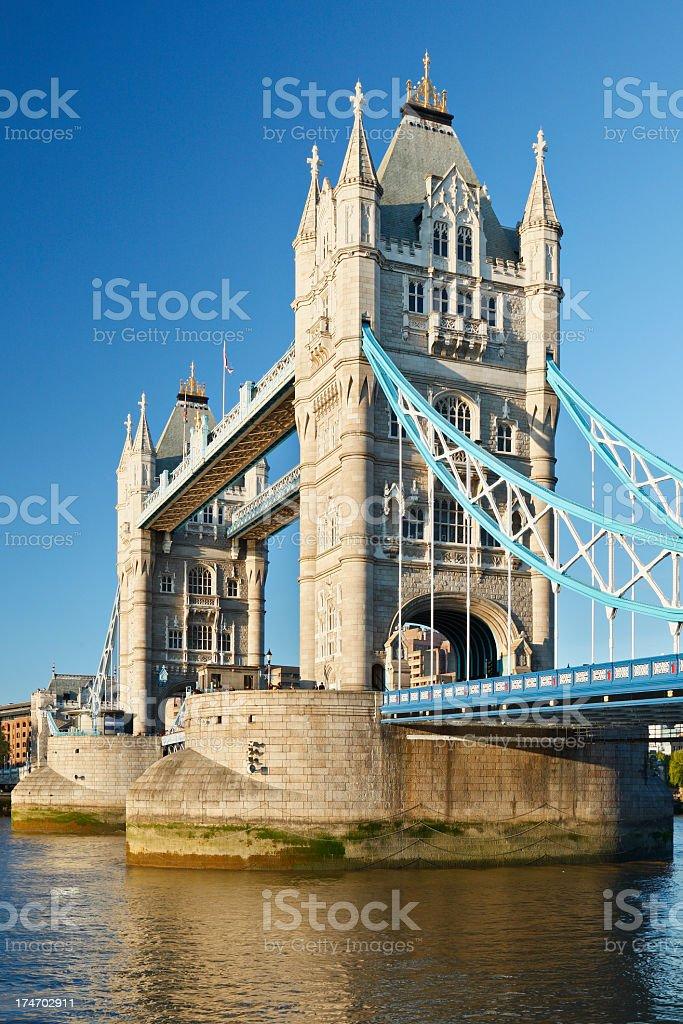 Tower Bridge in London, United Kingdom royalty-free stock photo