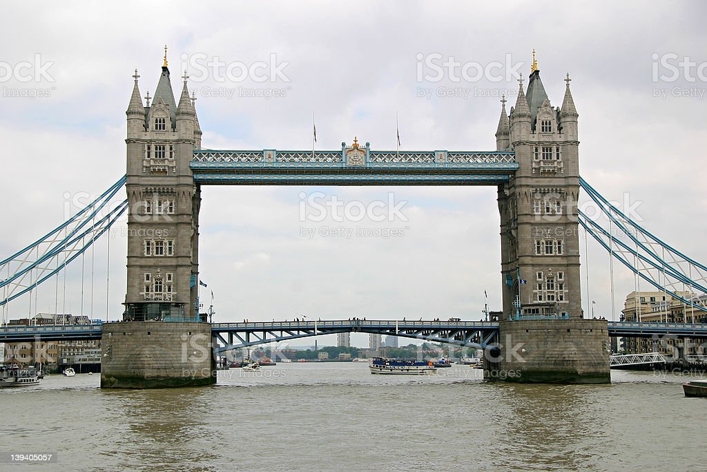 Tower Bridge - London, England royalty-free stock photo