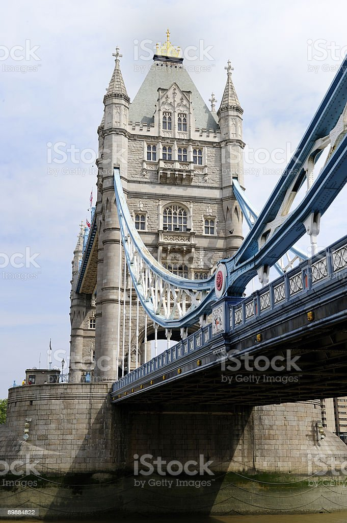 Tower Bridge, London, England royalty-free stock photo