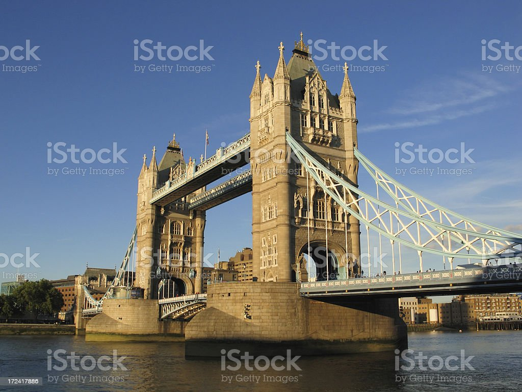 Tower Bridge - London royalty-free stock photo