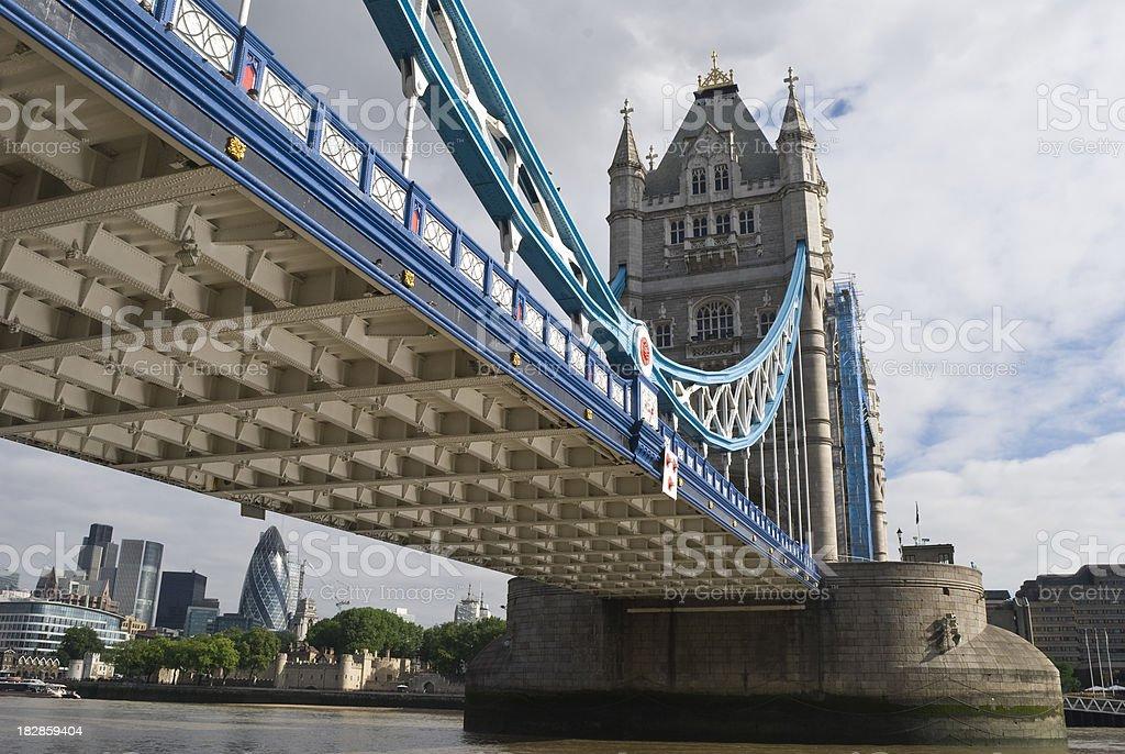 Tower Bridge, London royalty-free stock photo