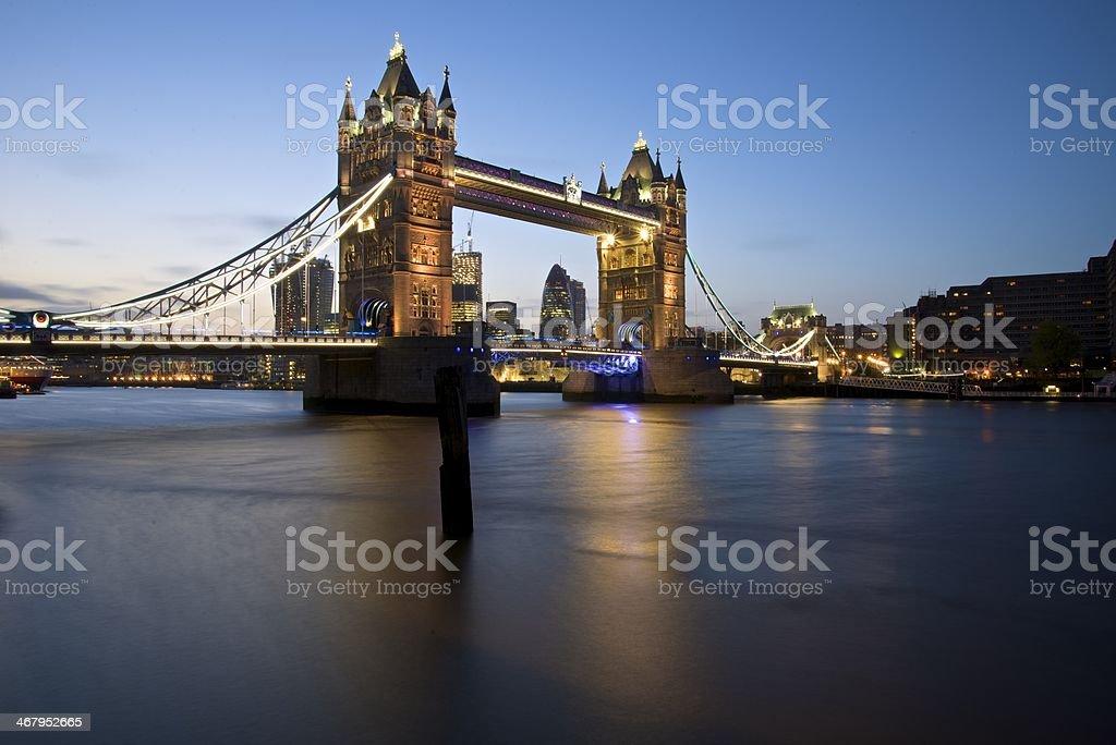 Tower Bridge - London royalty-free stock photo