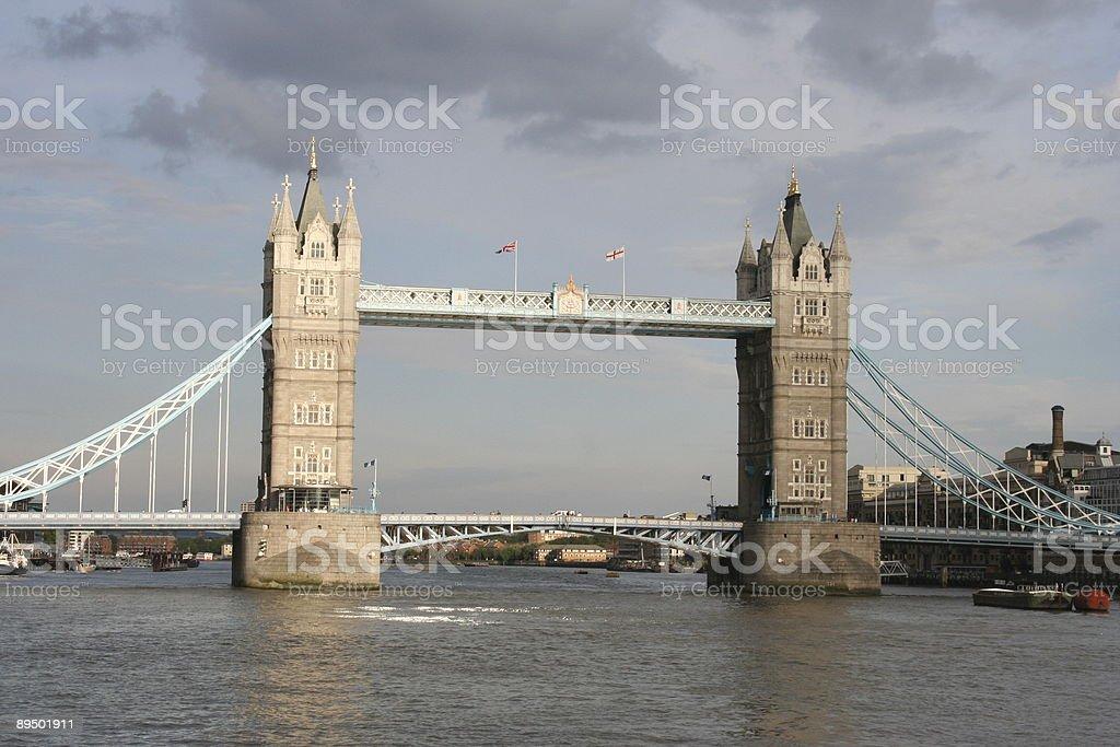 Tower Bridge w Londynie zbiór zdjęć royalty-free