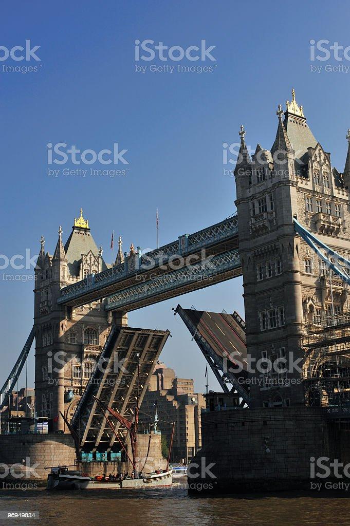 Tower Bridge, London, UK royalty-free stock photo