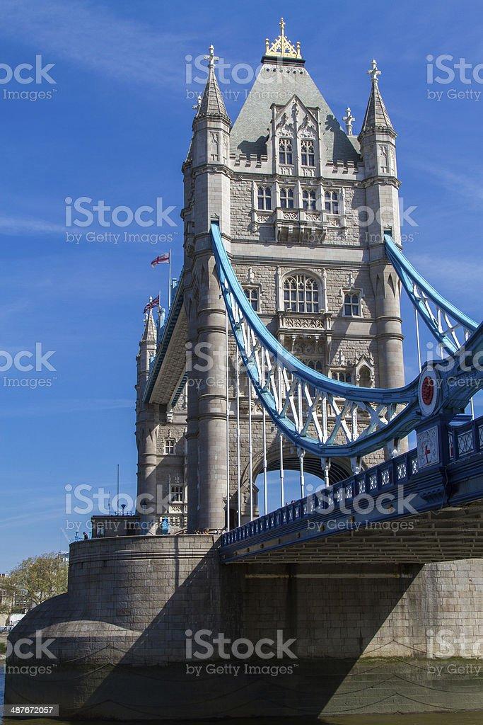 Tower Bridge of London stock photo