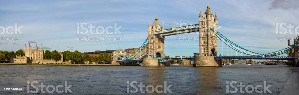 Tower Bridge van Londen - Royalty-free Architectuur Stockfoto