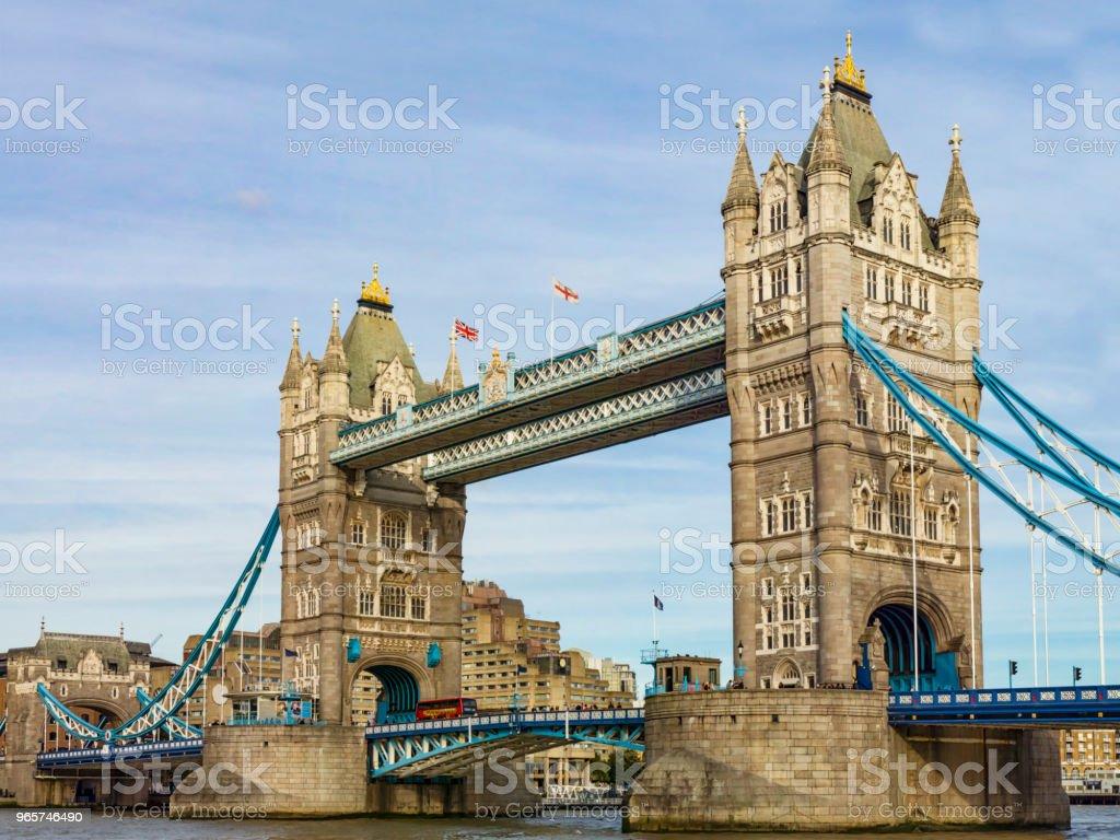 Tower Bridge of London - Royalty-free Ao Ar Livre Foto de stock