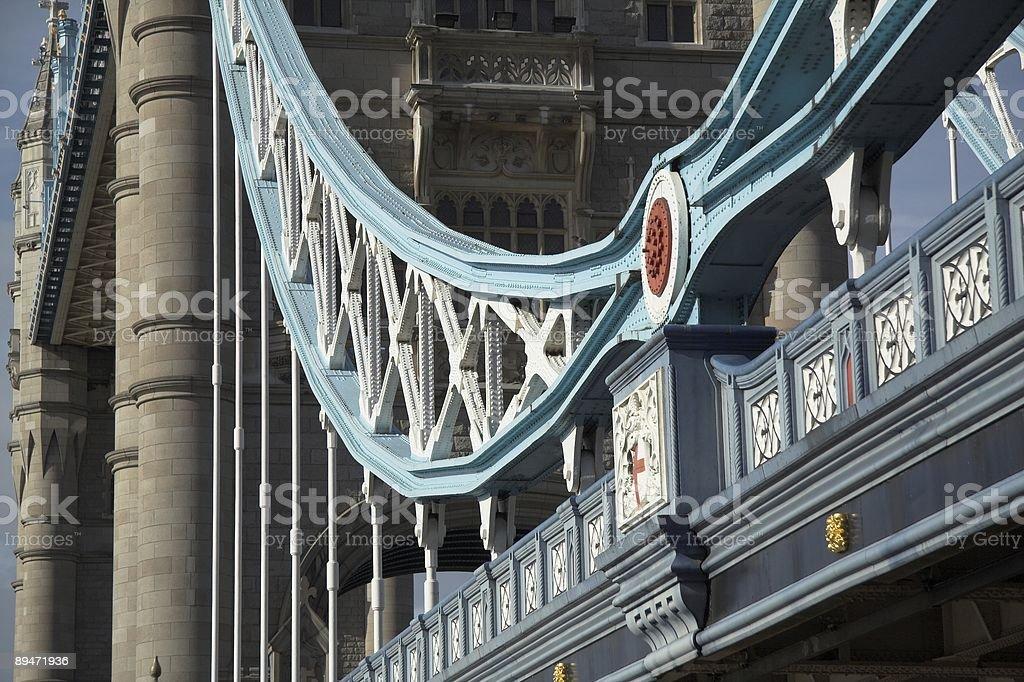 Tower Bridge und die Themse in London, England Lizenzfreies stock-foto