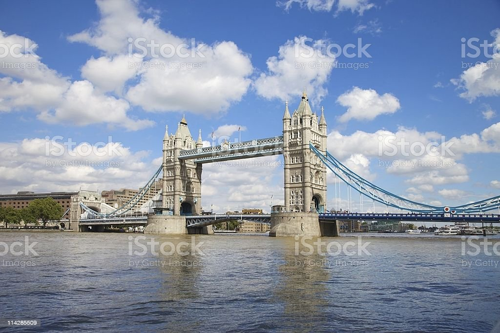 Tower Bridge... royalty-free stock photo