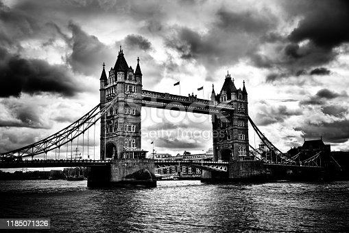 Cloudy day in London